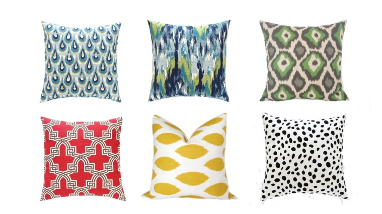 The Bluebird Shop Pillows