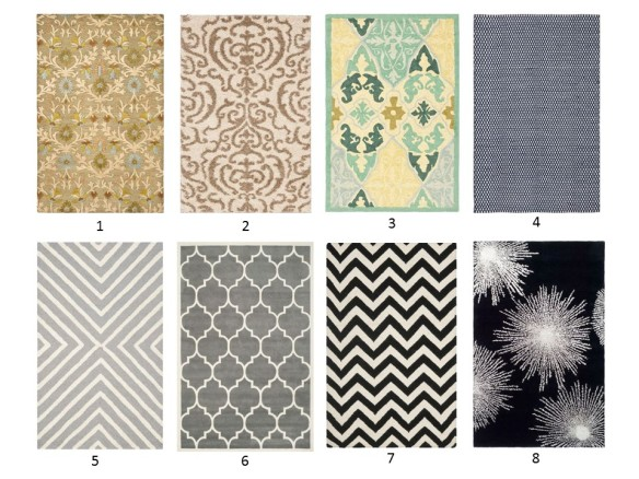 The Great Eight Rugs